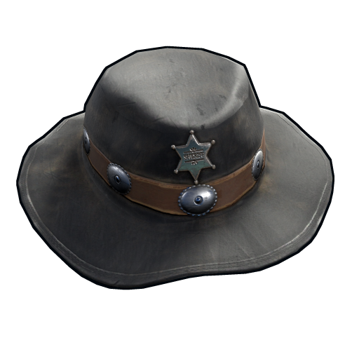 Cowboy Sheriff Hat as seen on a Steam Market