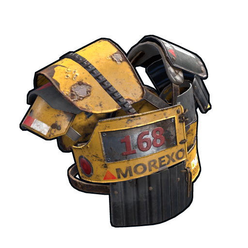 Heavy Machinery Roadsign Vest as seen on a Steam Market