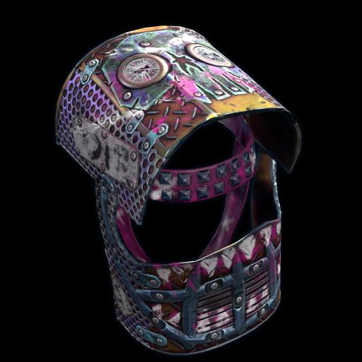 Apocalyptic Knight Helmet as seen on a Steam Market