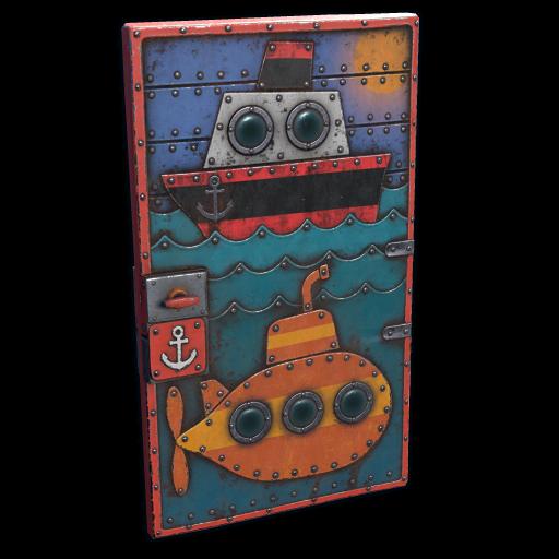 Shippy & Friends Door as seen on a Steam Market