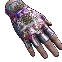 Apocalyptic Knight Leather Gloves
