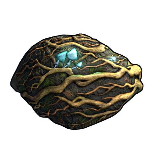 Rooted Rock as seen on a Steam Market