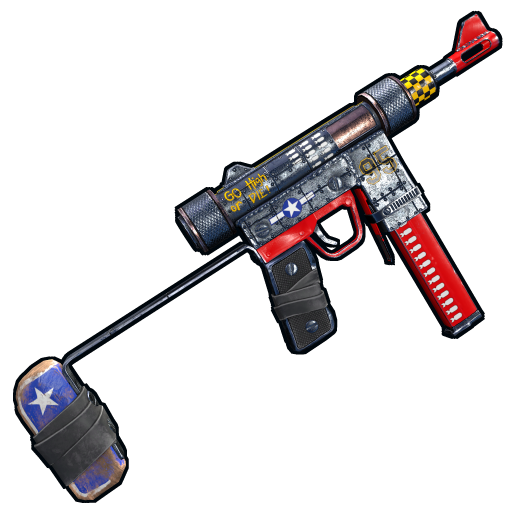 Flyboy SMG as seen on a Steam Market