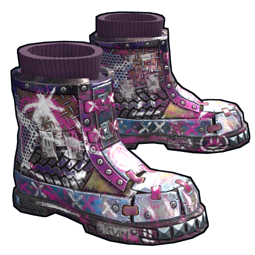 Apocalyptic Knight Boots as seen on a Steam Market
