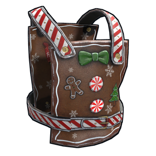 Naughty Gingerbread Chestplate