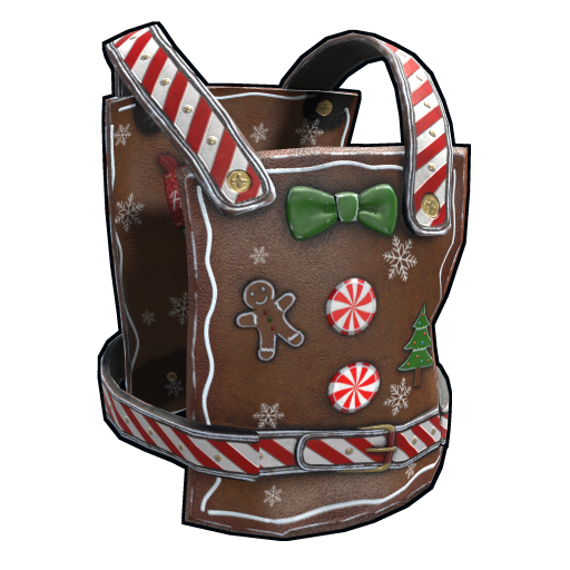 Naughty Gingerbread Chestplate as seen on a Steam Market