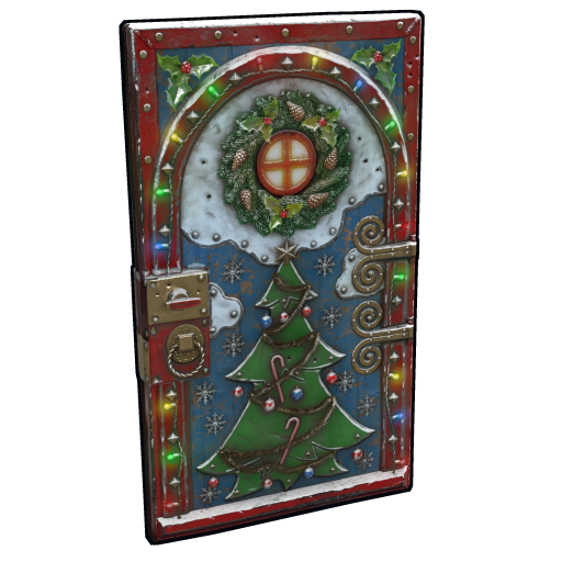 Santa's Front Door as seen on a Steam Market