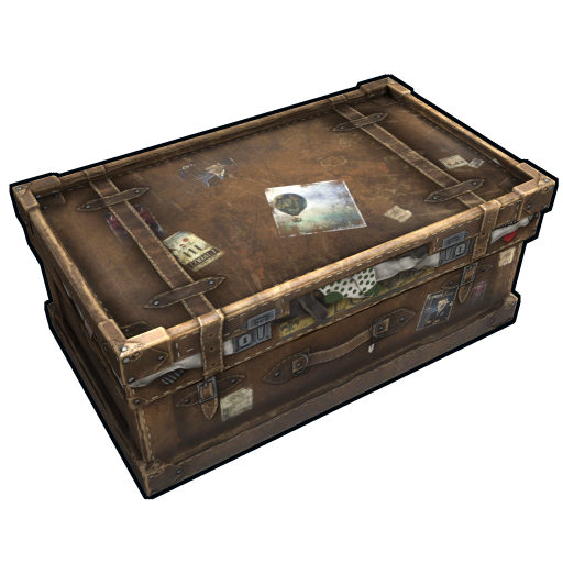 Large Suitcase as seen on a Steam Market