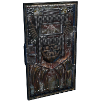 Armored Scrapper Door