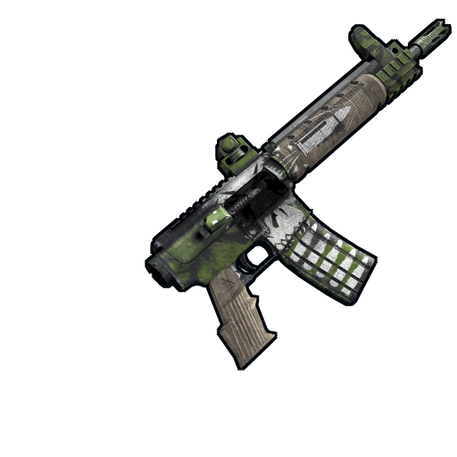 Jungle Fighter LR-300 Stockless as seen on a Steam Market
