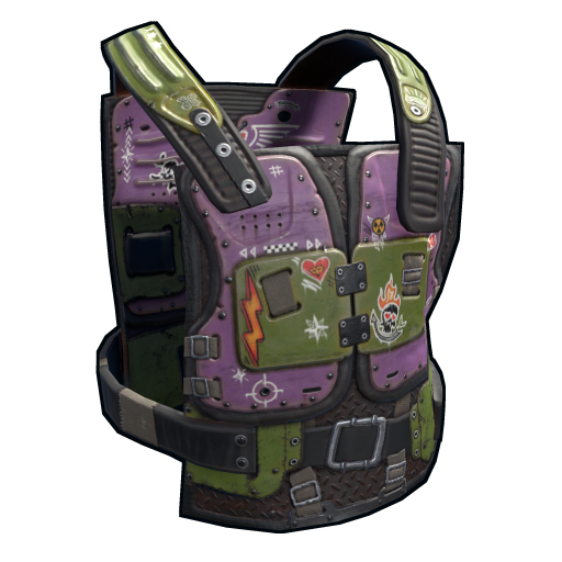 Vandal Chest Plate as seen on a Steam Market