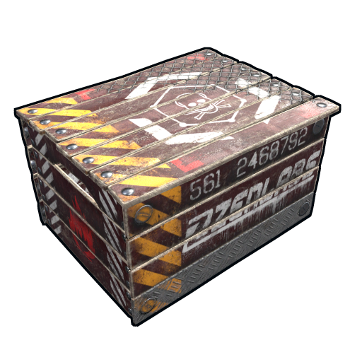 Oil Rig Storage Box as seen on a Steam Market