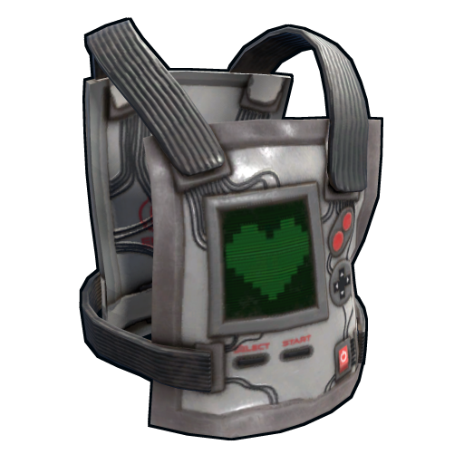 Playmaker Chest Plate as seen on a Steam Market