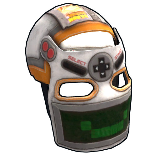 Playmaker Facemask as seen on a Steam Market