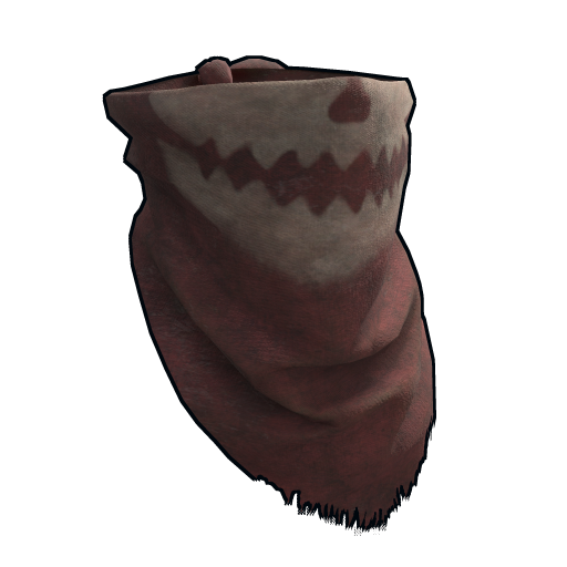 Burlap Bandit Bandana as seen on a Steam Market