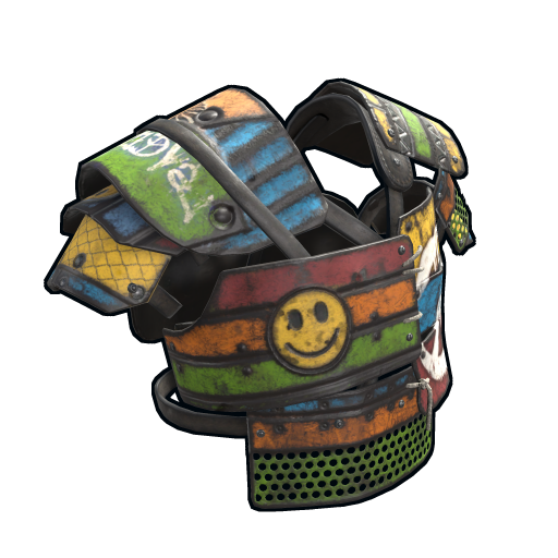 Peacemaker Vest as seen on a Steam Market