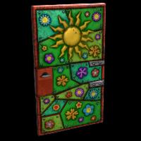 Flower Power Door