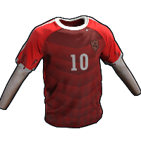Rust Footballer Shirt