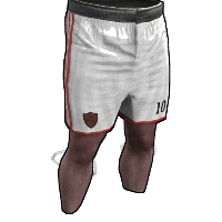 Rust Footballer Shorts