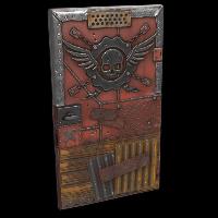 Bandit Sheet Metal Door