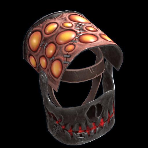 Scary Helmet as seen on a Steam Market