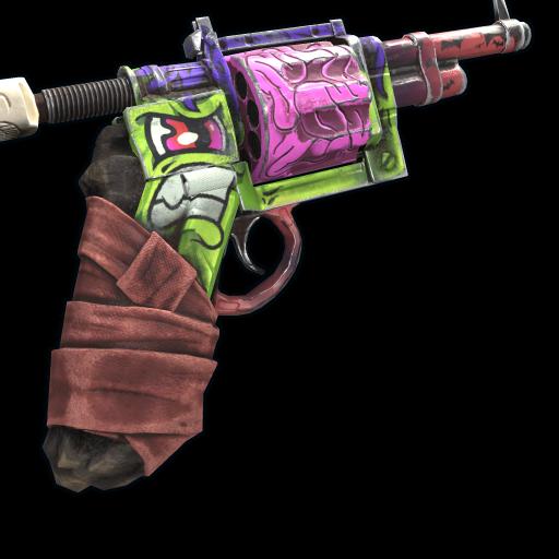Frankenstein Revolver as seen on a Steam Market