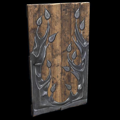 Metal Tree Door as seen on a Steam Market