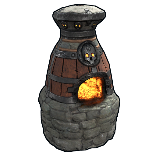 Cursed Soul Furnace as seen on a Steam Market