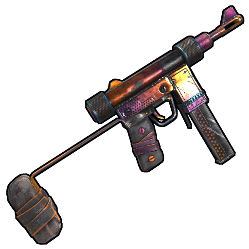 Tempered SMG as seen on a Steam Market