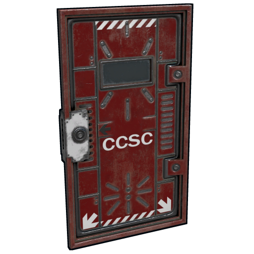 Cargo Ship Security Door as seen on a Steam Market