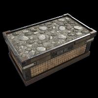 Open Stone Box
