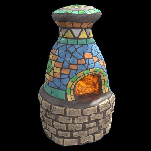 Mosaic Furnace as seen on a Steam Market