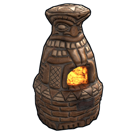 Totem Furnace as seen on a Steam Market