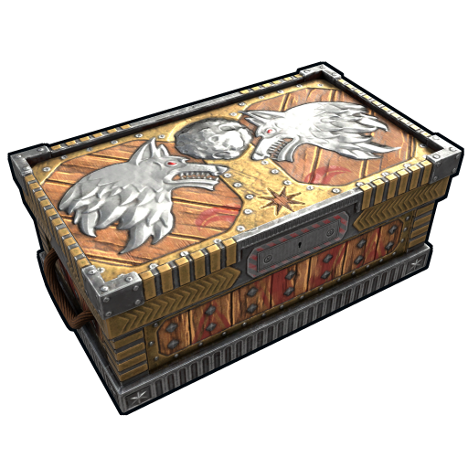 Lone Wolf Chest as seen on a Steam Market