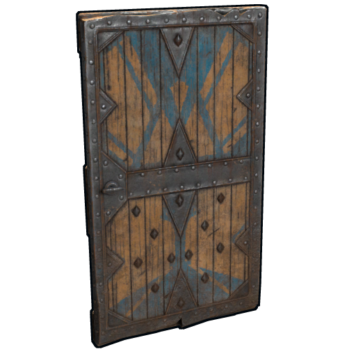 Fortified Castle Door as seen on a Steam Market