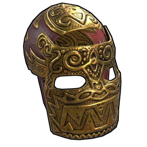 Legendary Gold Facemask