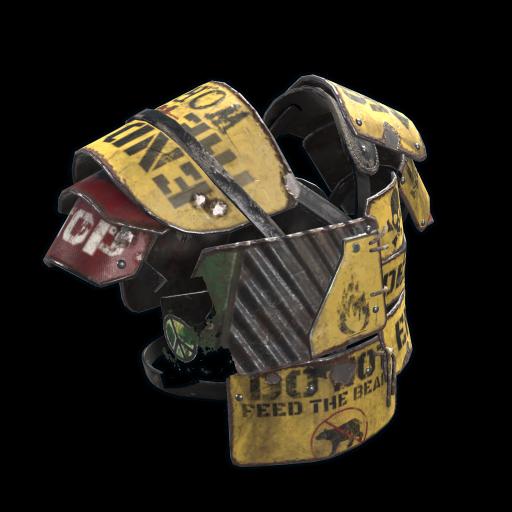 Caution Vest as seen on a Steam Market