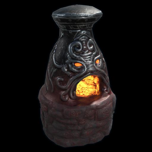 Ancient Gods Furnace as seen on a Steam Market
