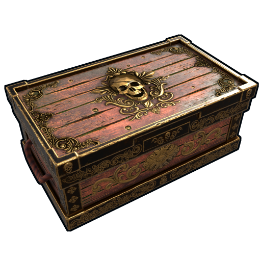 Cursed Pirate Treasure Chest as seen on a Steam Market