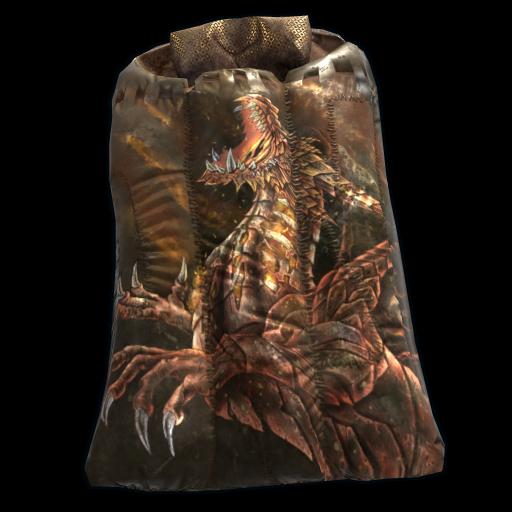 Golden Drake Sleeping Bag as seen on a Steam Market