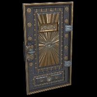 Armored Mason Door