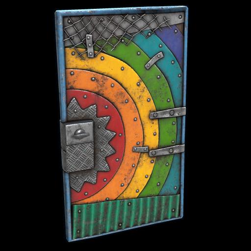 Rainbow Door as seen on a Steam Market