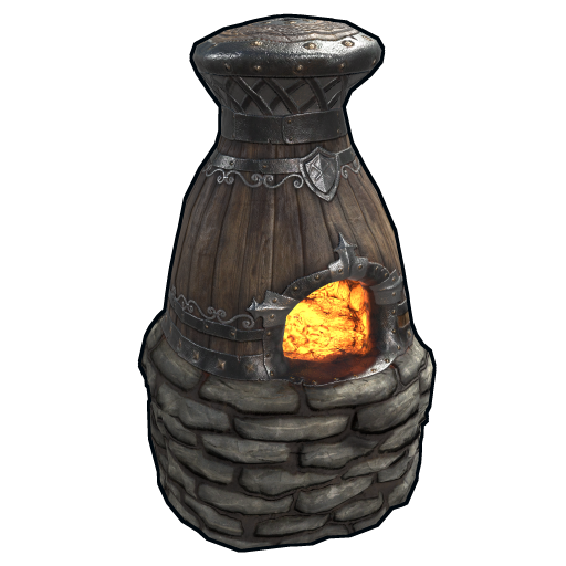 Miner's Furnace as seen on a Steam Market
