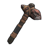 Dark Rite Stone Hatchet