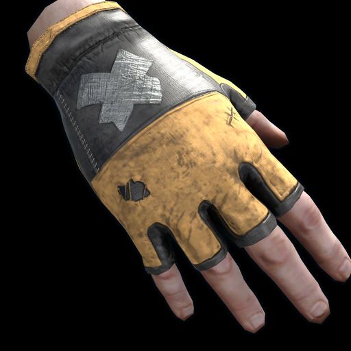 Junkyard King Gloves as seen on a Steam Market