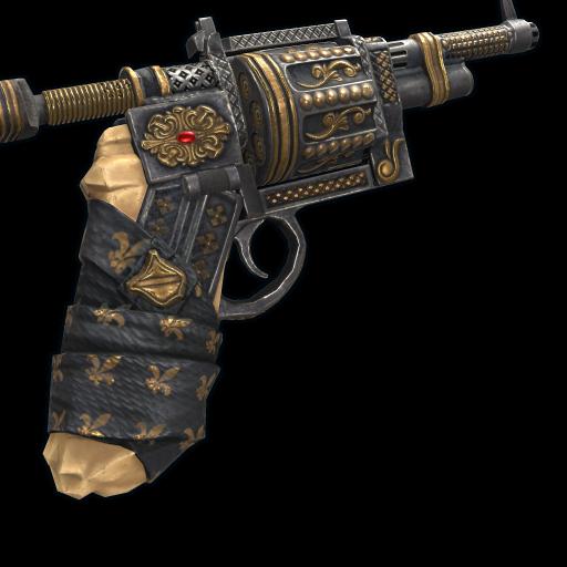 Regal Revolver as seen on a Steam Market
