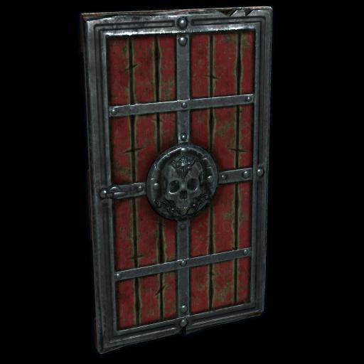 Cursed Wooden Door as seen on a Steam Market