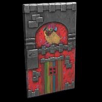 Pug Tower Door