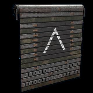 Defense Garage Door