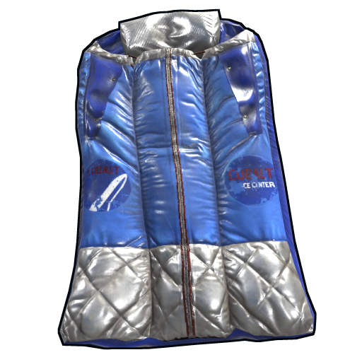 Cobalt Survival Bag as seen on a Steam Market